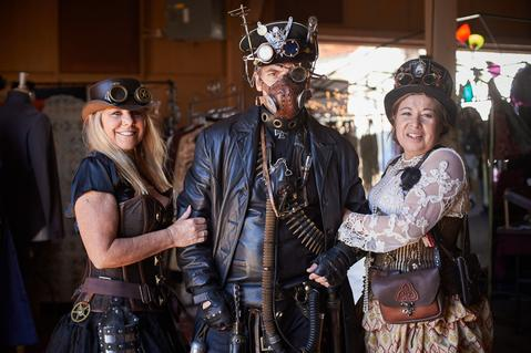 2018 Wild Wild West Steampunk Convention at Old Tucson Studios