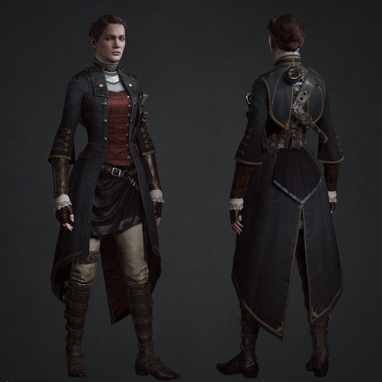 6 Female Steampunk Video Game Characters with Superb Outfits
