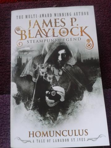 Homunculus by James P Blaylock steampunk book