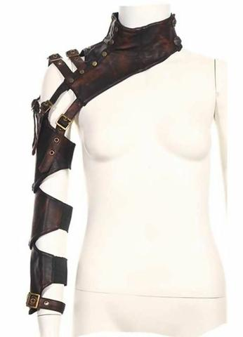 Kate's Clothing Steampunk leather armor for arm