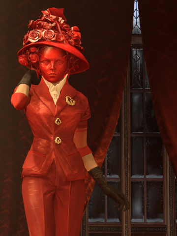 Lady Boyle dishonored steampunk outfit