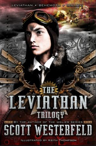 Scott Westerfeld Leviathan Trilogy steampunk