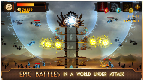 Steampunk Tower – 2013 for android os video game