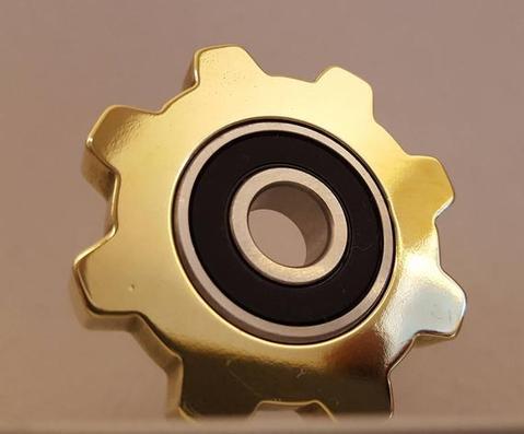 bronze steampunk fidget spinner