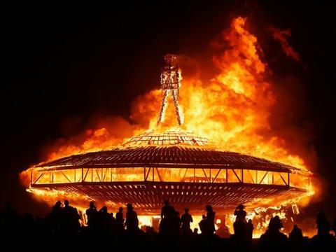 burning men steampunk festival