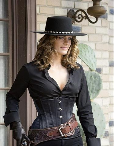 castle Kate Beckett cowgirl steampunk clothing