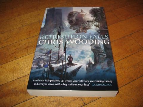 retribution falls book written by chris wooding