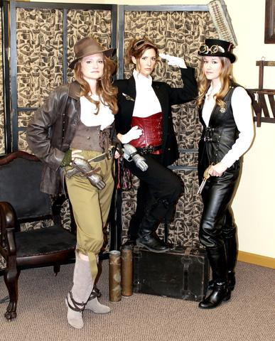 example of modern steampunk fashion