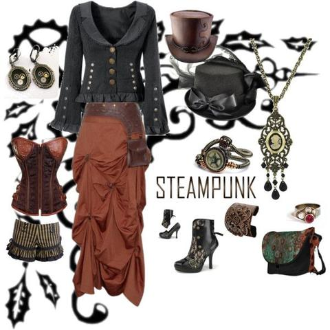 fun steampunk look clothing and accessories