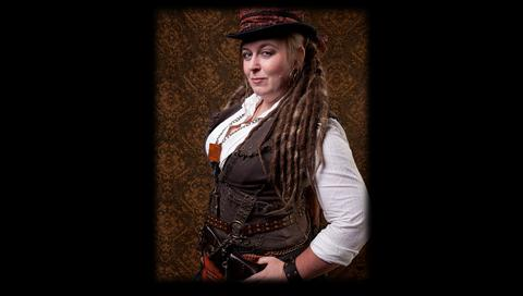 lady potts from the league of steam steampunk clothing