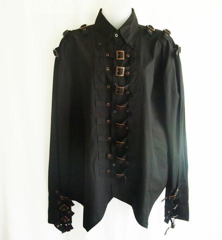 steampunk shirt for men