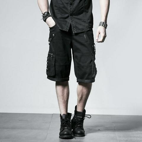 mens steampunk shorts