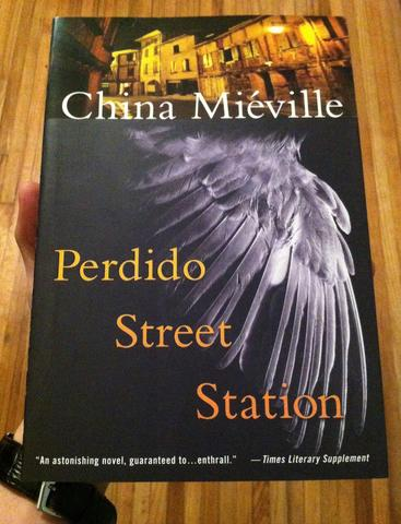 perdido street station book cover by china mieville
