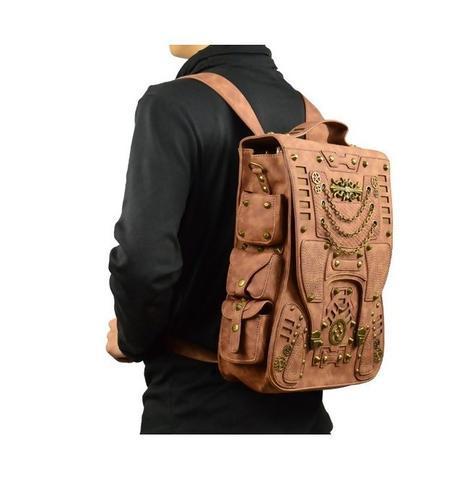 steampunk backpack