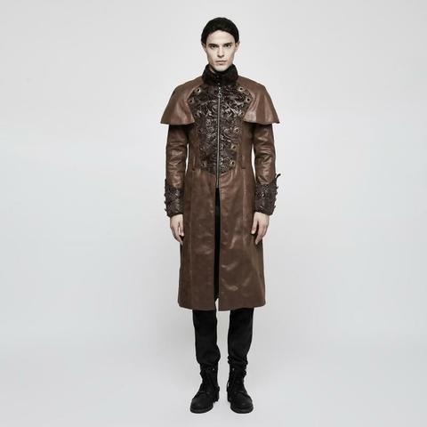 steampunk coat for men example