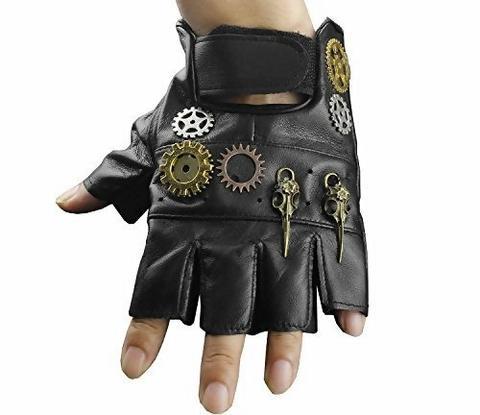 men steampunk gloves