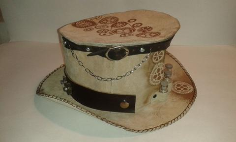 diy steampunk hat that is easy to make