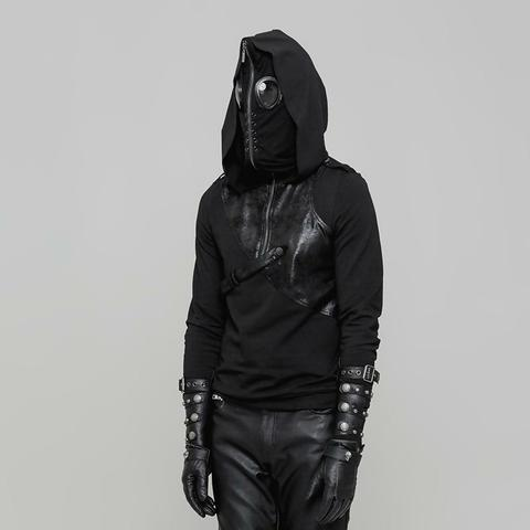 steampunk hoodie with a long sleaves