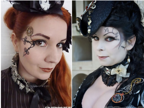 steampunk makeup examples