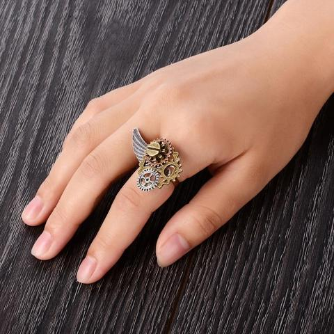 steampunk ring you can wear everyday