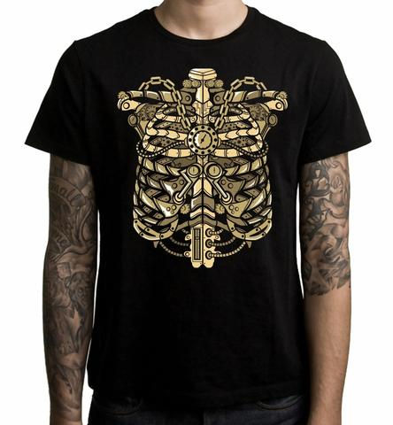 t-shirt for men with steampunk style