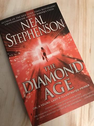 the diamond age by neal stephenson steampunk book